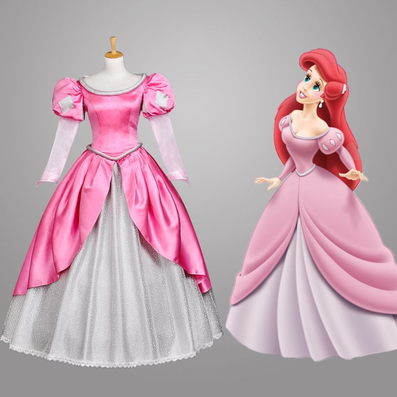 Robe princesse rose pas cher