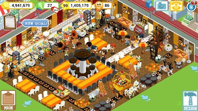 My restaurant  Fall set up Add Me Vkidd318