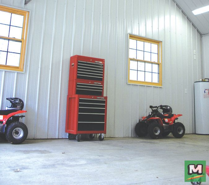 Finish Your Garage Or Workshop With Dura Panel Made With