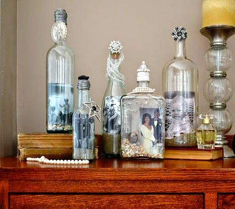 recycling bottles for coastal decor lots of great decorating ideas how to use - Coastal Decor Ideas