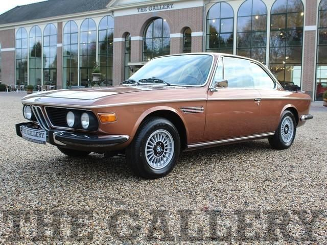 Bmw 3 0 Cs E9 1975 Delivered In Siennabraun With A Complete New