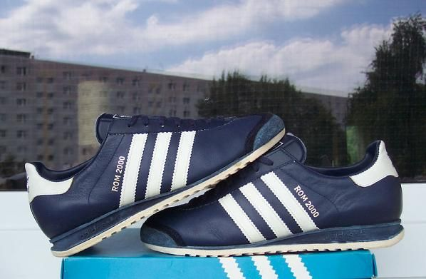 Adidas Rom 2000 | Chaussure, Sergio tacchini et Kickers