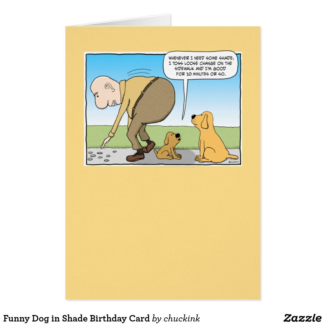 Funny dog in shade birthday card dog and birthdays funny dog in shade birthday card bookmarktalkfo Choice Image
