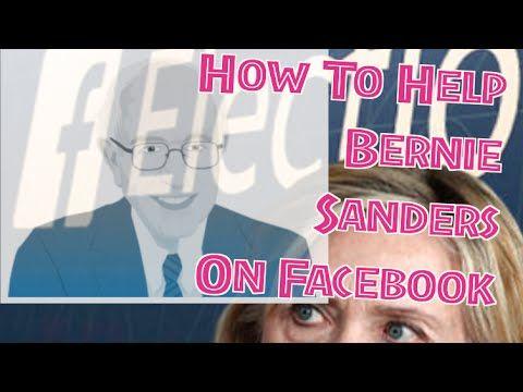 How To Help Bernie Sanders With Facebook Berniesanders Feelthebern Politicalrevolution With Images Bernie Sanders Bernie Sanders