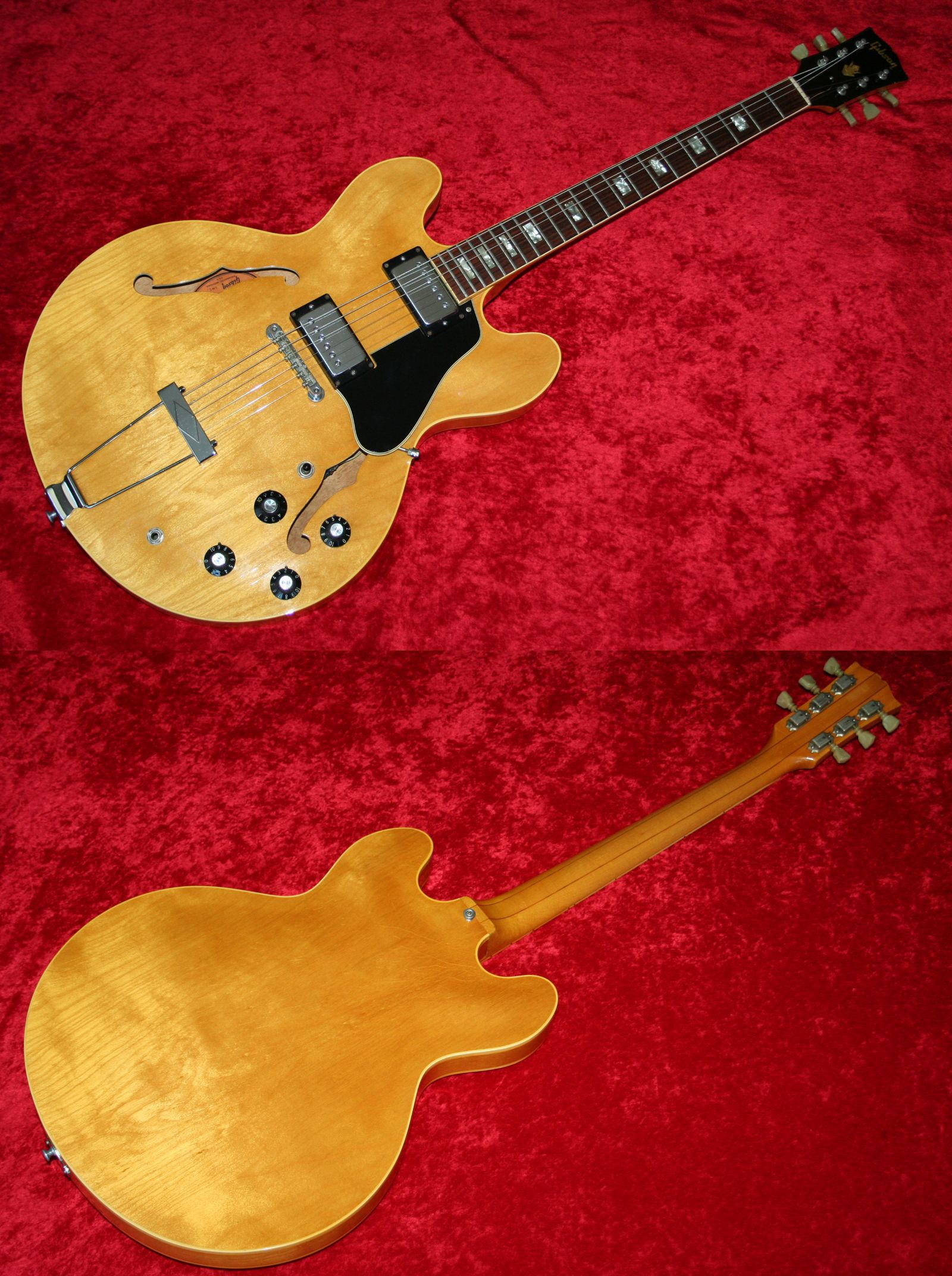 Vintage Es335 Wiring Trusted Schematics Diagram Gibson Kit Es 335 1969 340 Blonde Finish Just Like An With Deluxe