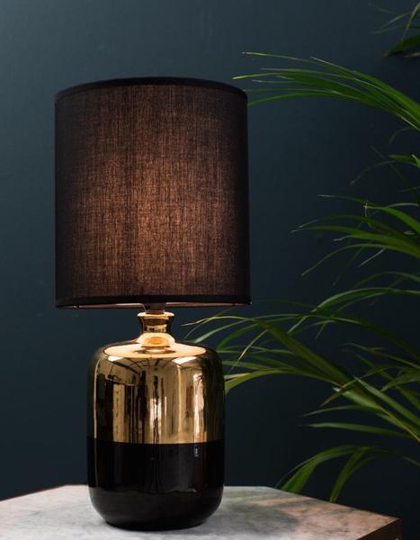 Bon Black To Gold Table Lamp   Black/Gold