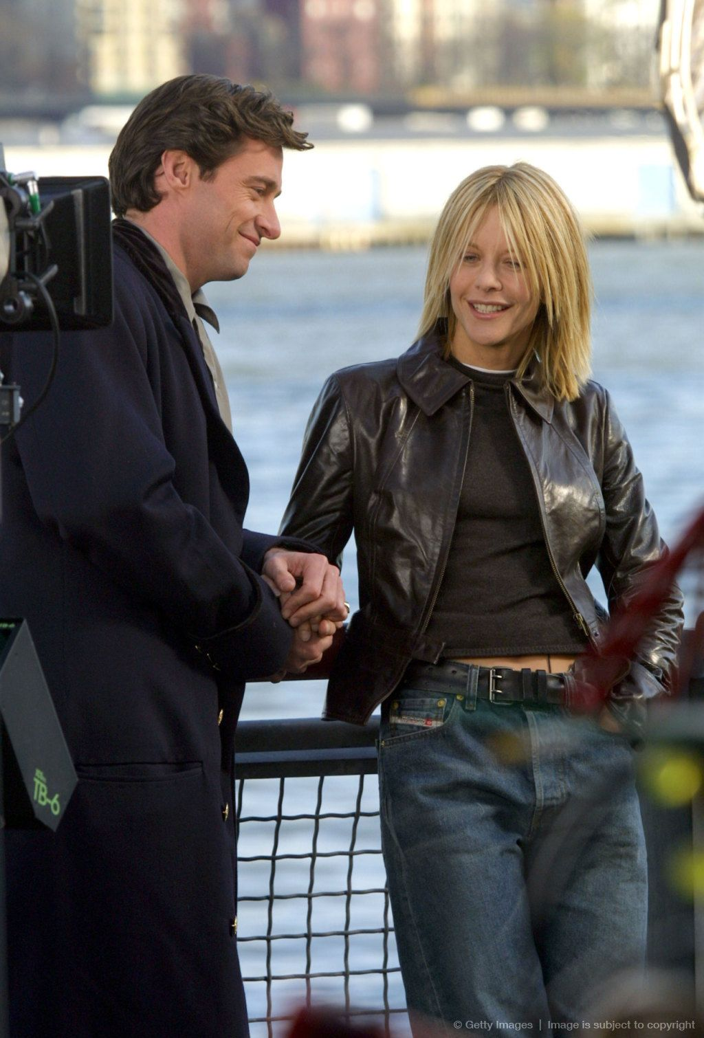 """On the Set of """"Kate & Leopold"""" - New York City"""