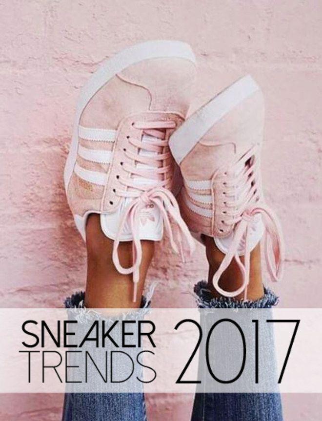 sneaker damen trend 2017
