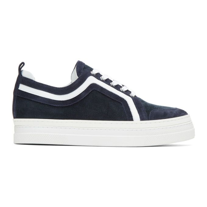 Pierre Hardy Navy & Campus 2 Sneakers
