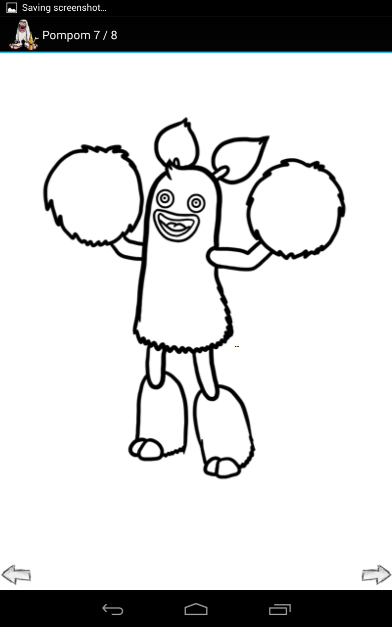 My Singing Monsters Coloring Pages On Cartoons With My Singing
