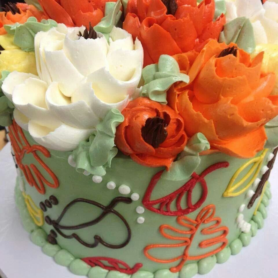 By The White Flower Cake Shop Brilliant Buttercream Cakes Cake
