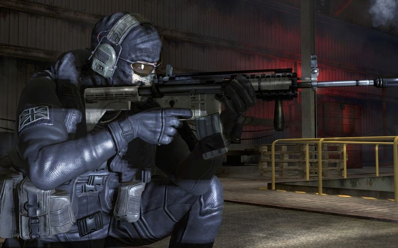 Cod Mw2 Ghost In The Only Easy Day Was Yesterday Favs