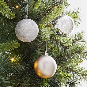 Christmas Tree Decorations Christmas Baubles Dunelm Christmas Tree Decorations Christmas Decorations Tree Decorations