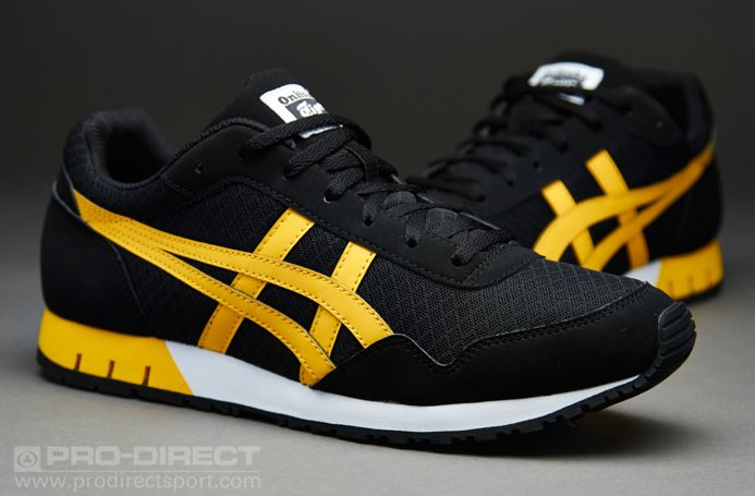 los angeles 3e027 257eb Onitsuka Tiger Curreo - Black / Yellow | Style: Shoes ...