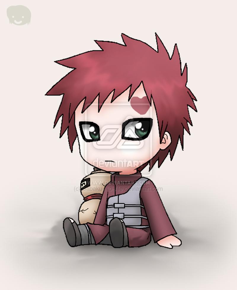 cute gaara ) Personagens chibi, Personagens de anime