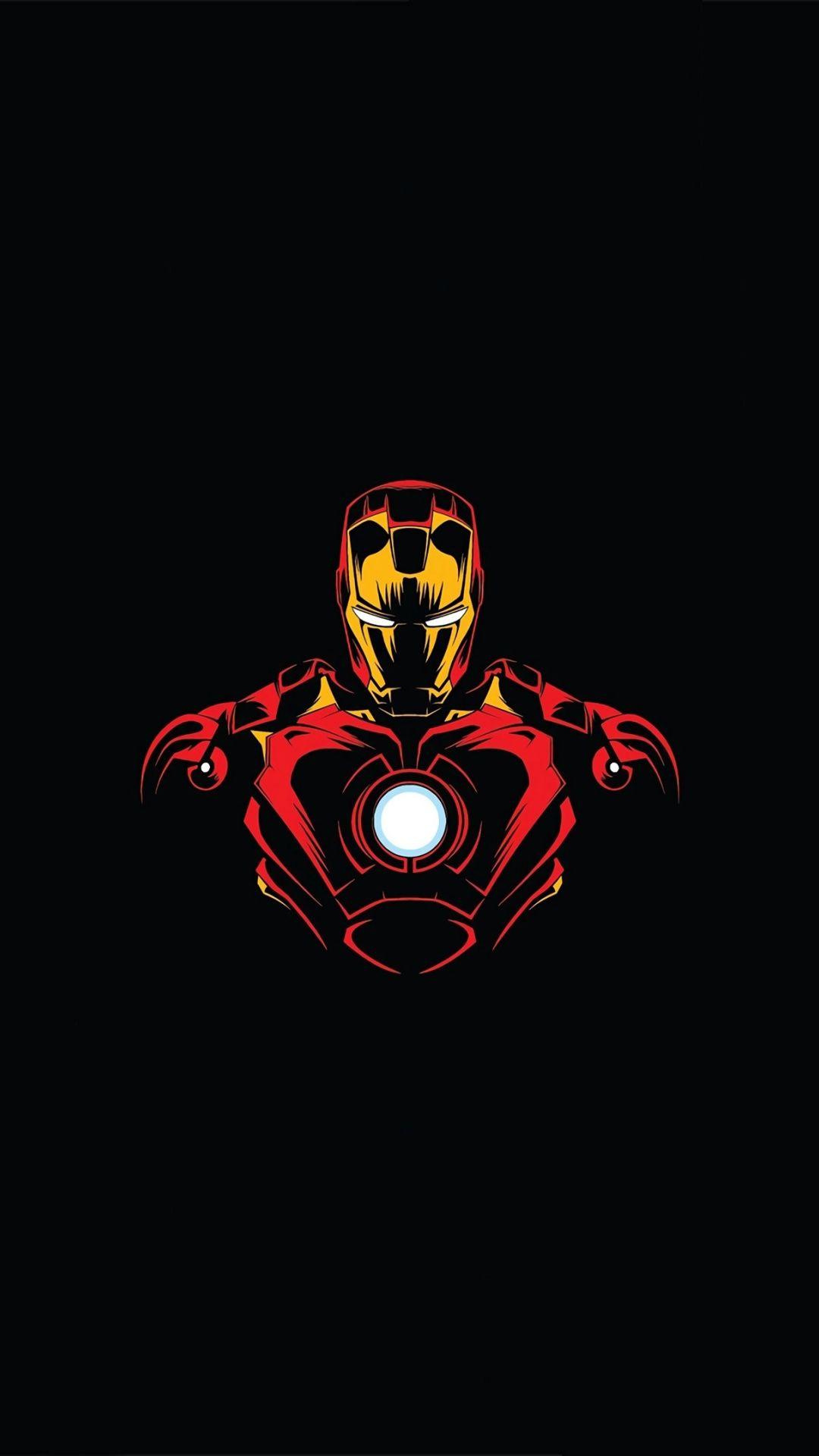 Download 1080x1920 Wallpaper Marvel Hero Iron Man Minimalist Samsung Galaxy S4 S5 Note Sony Xpe Iron Man Art Iron Man Hd Wallpaper Marvel Phone Wallpaper