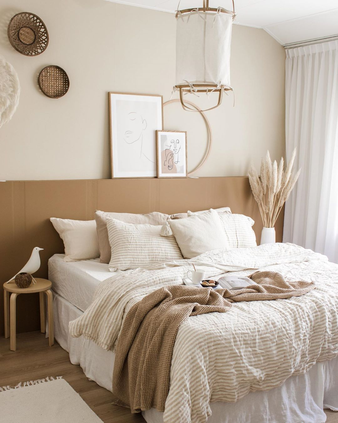 Neutral Beige Bedroom Aesthetics are Perfect for t