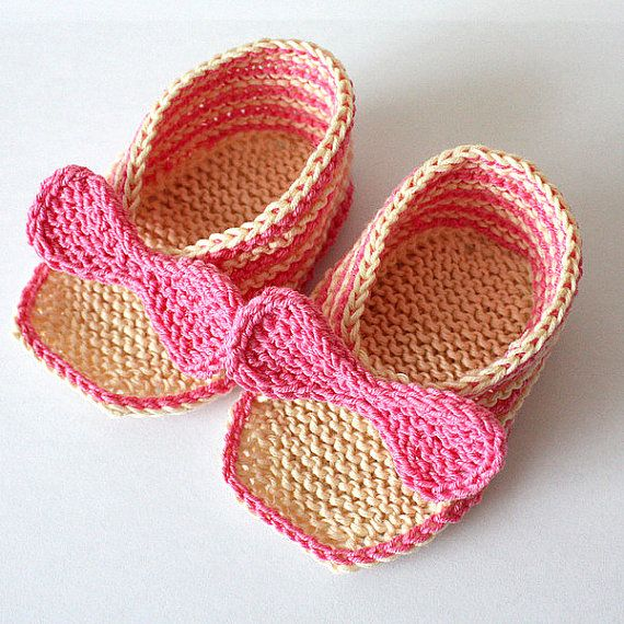Instant Download Knitting Pattern Pdf File Elegant Baby Sandals
