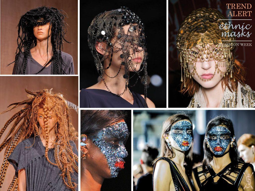 Trend Alert / Fashion Week SS 14 - Ethnic masks