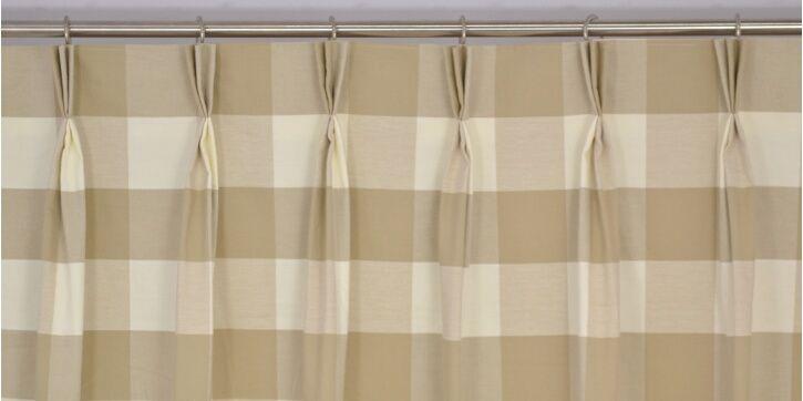 12 Curtain Heading Types Triple Pinch Pleat Heading Type