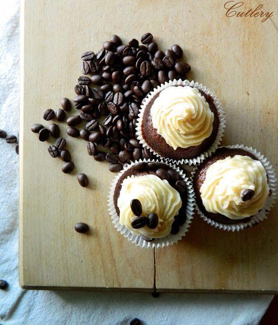 Chocolate & coffee cupcakes