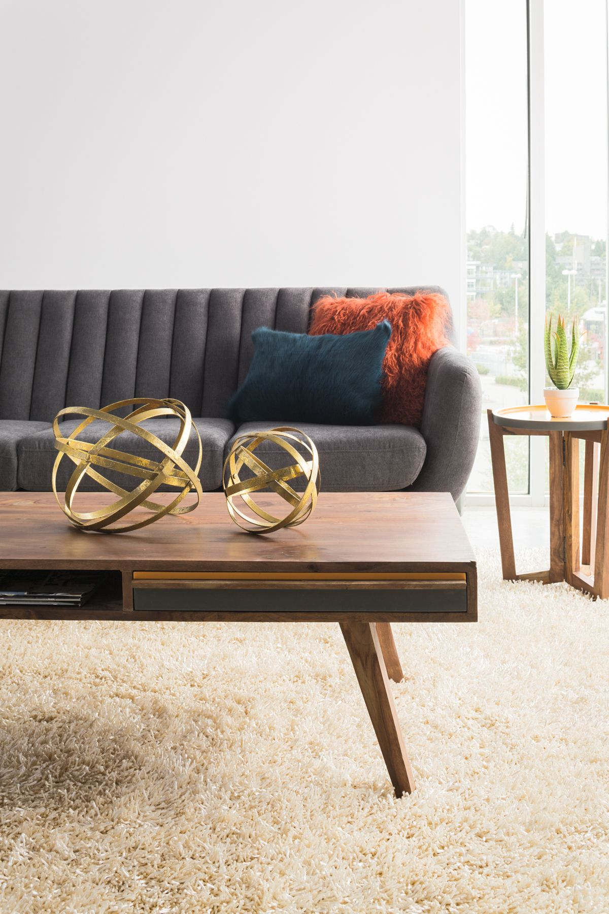 Bowie Coffee Table Mid Century Modern Living Room Mid Century Modern Living Mid Century Modern Coffee Table [ 800 x 1199 Pixel ]
