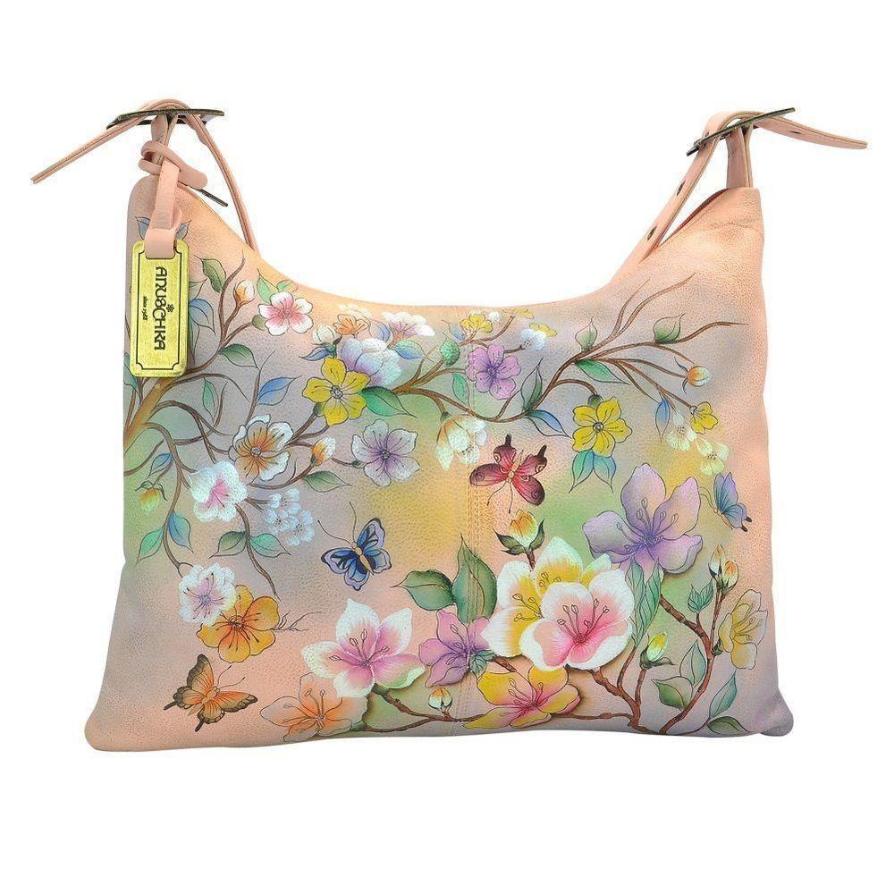 1f9f06d7ee0 Anuschka Leather JAPANESE GARDEN Slim Large Hobo, NWT   Clothing, Shoes    Accessories, Women s Handbags   Bags, Handbags   Purses   eBay!