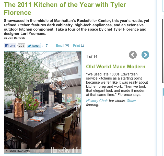 2011 Kitchen of the Year with Tyler Florence