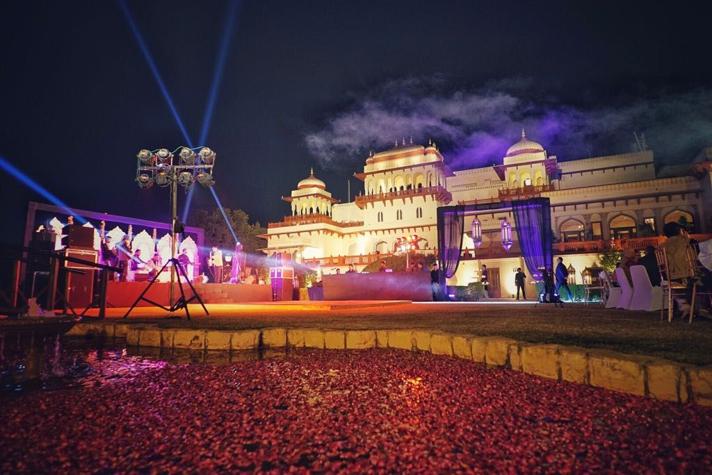 Wedding of Dinesh and Nancy at Rambagh Palace in Jaipur