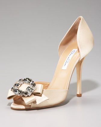 Jewel Toe D Orsay By Neiman Marcus At Neiman Marcus Last Call Jeweled Heels Cinderella Shoes Heels
