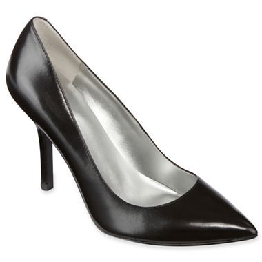 46ab4758dd5f4 Worthington® Maggie Pointy-Toe Leather Pumps - jcpenney
