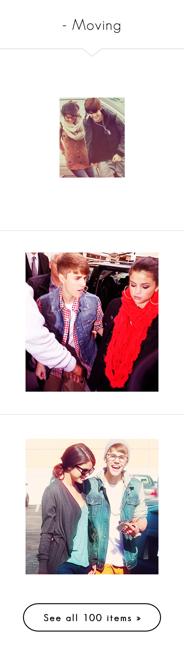 """""""- Moving"""" by obeyfucklena ❤ liked on Polyvore featuring jelena, justin bieber, selena, selena gomez, jelena., justin, drawings, desenho, extra and fillers"""