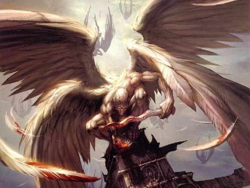Archangel Samael   Catevarismos      real   Angel art, Fantasy art