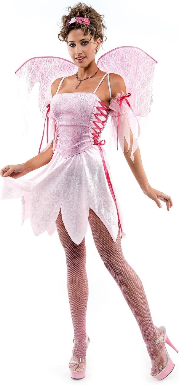 Pink Blush Fairy Costume. Pink Blush Fairy Costume Funny Halloween Costumes,  Adult ...