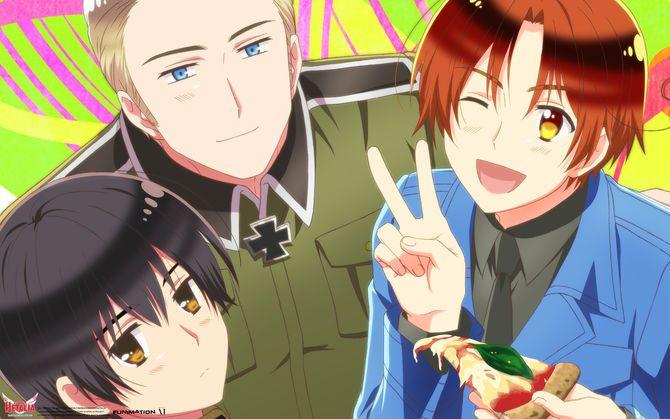 Anime Hetalia The Beautiful World