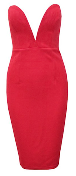 Jenna Strapless Bustier Dress - Red from www.RawGlitter.com  TAKE 10% OFF ANY ITEM! USE CODE:  PINUP10  http://www.rawglitter.com/collections/new-arrivals/products/jenna-strapless-bustier-dress-red