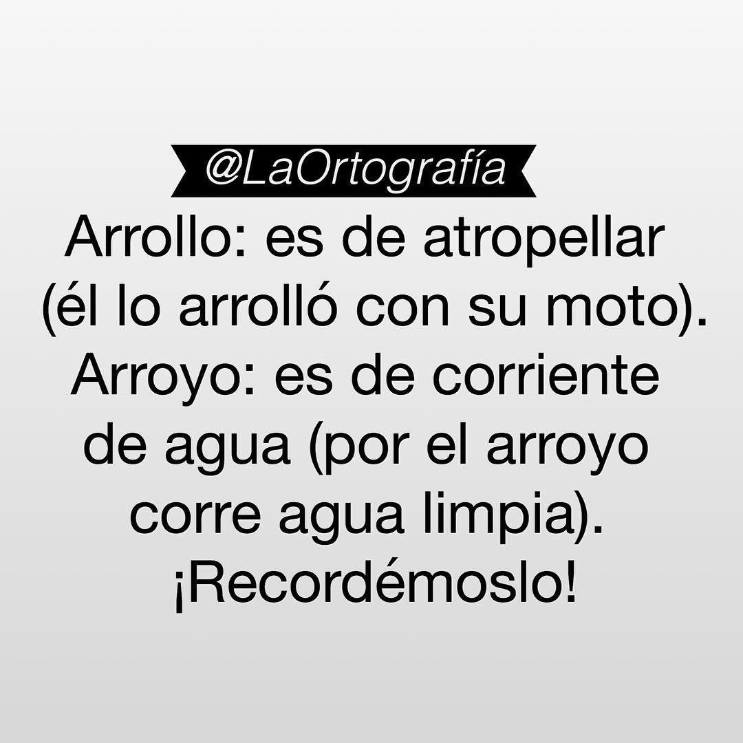 Pin by Alanys Orialy on La Ortografía . | Pinterest | Instagram