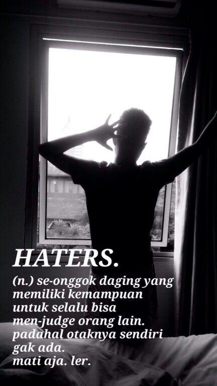 Haters Dengan Gambar Motivasi Lucu Kutipan Lucu