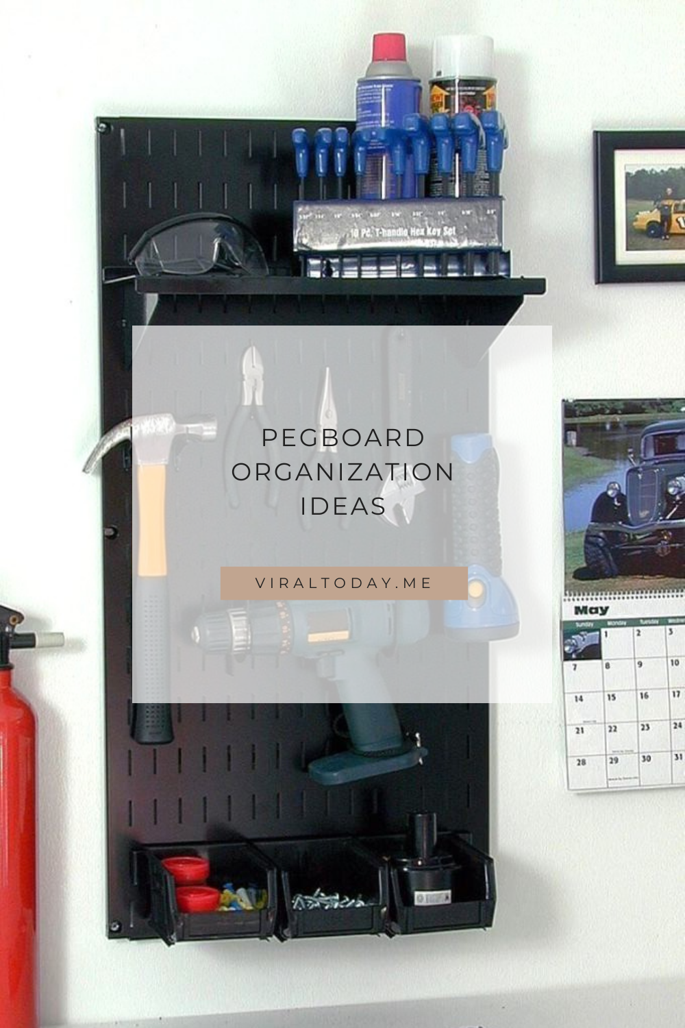 Photo of 25 Brilliant Garage Pegboard Organization Ideas for Tools Storage at Wall
