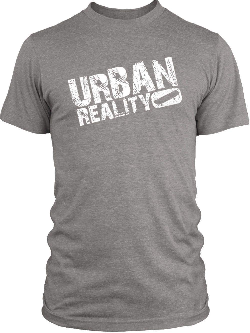 Big Texas Urban Reality (White) Vintage Tri-Blend T-Shirt