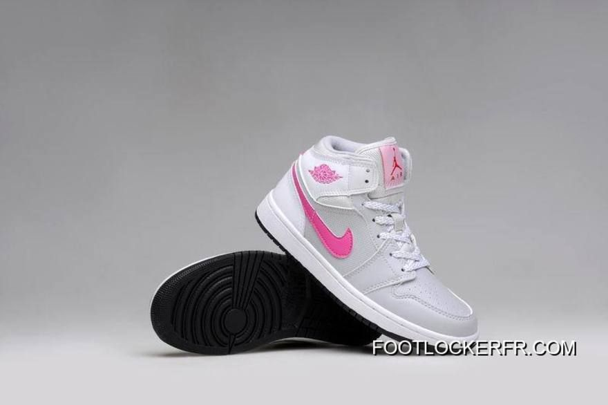 http   www.footlockerfr.com air-jordan-1-gs-grey-pink-white-shoes ... 31a9970d3b16