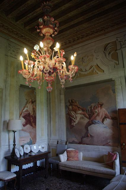 Villa Rotonda Interior Vicenza Italy Lovely Aj French