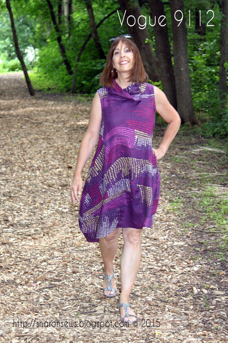 Sharon Sews: I like it! Vogue 9112 aka the Marcy Tilton Cirque Dress ...