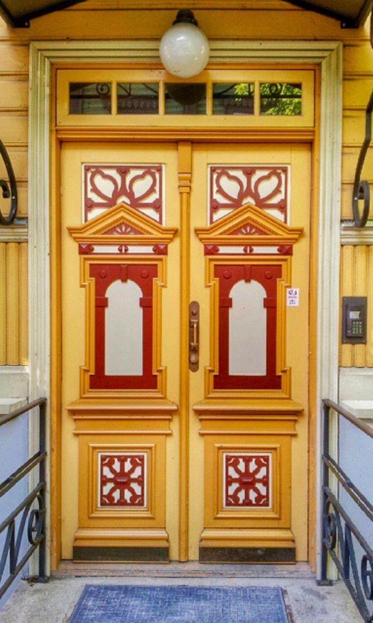 Haus design eingangstor tallinn estonia  doors  pinterest  türen fenster und türen und