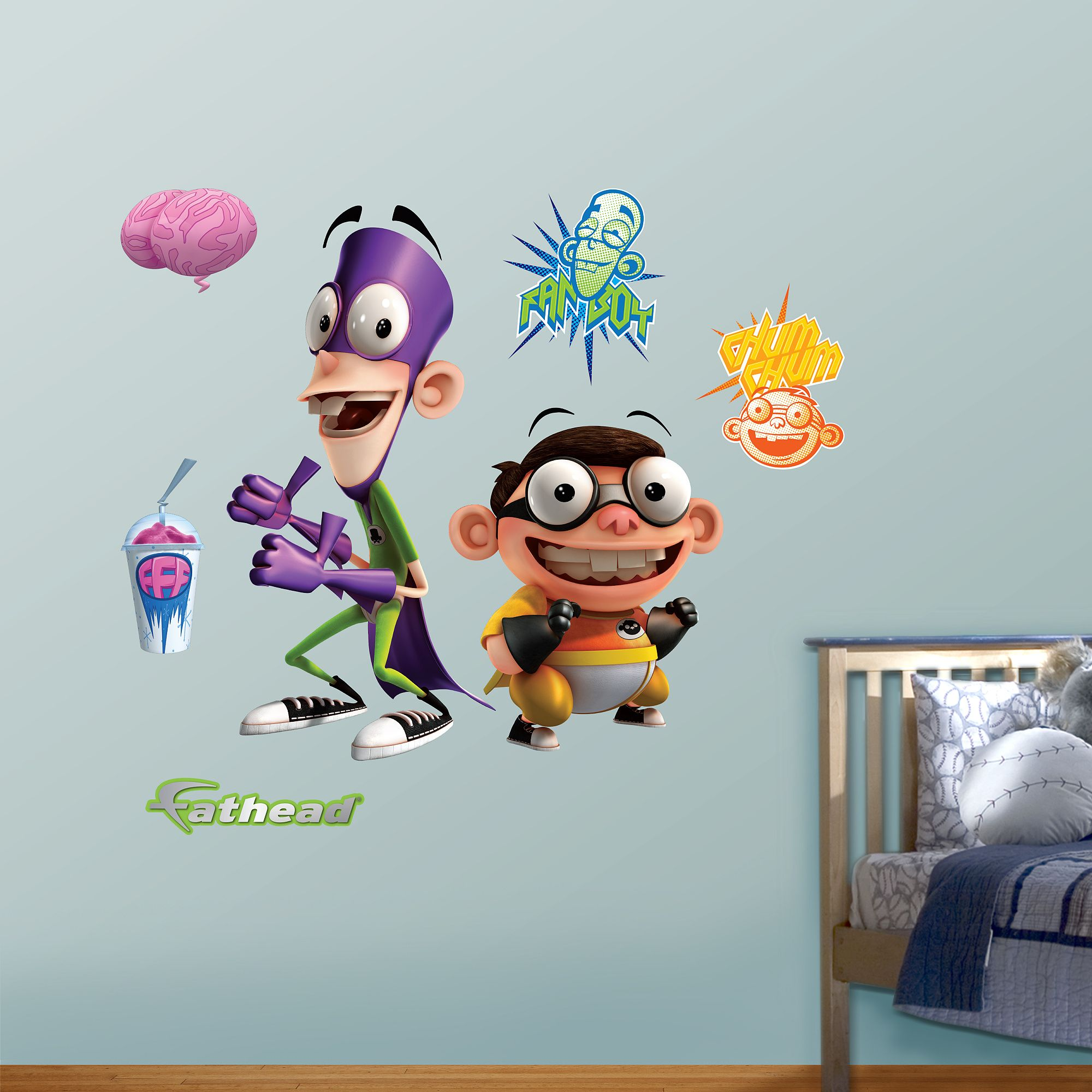 Fanboy And Chum Chum Wall Decals Peel Stick Vinyl Cool Things