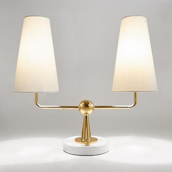 Jonathan Adler Caracas 2 Light Table Lamp In New Table Lamp Light Table Lamp