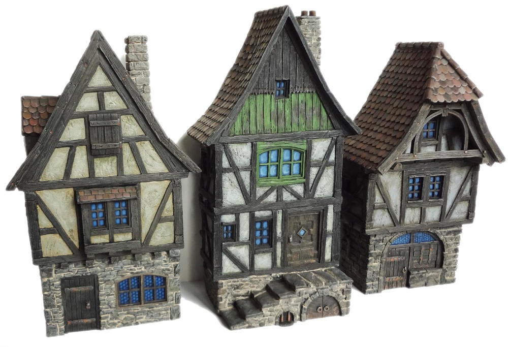 Cianty S Tabletop Wargames Blog Gone Fronting Medieval Houses Minecraft Medieval Medieval Town