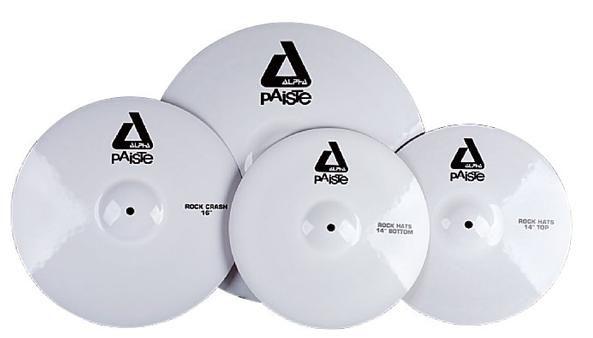 Paiste/ White Alpha Cymbals