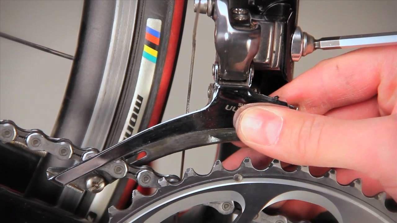 Front Derailleur Adjustment Bike Repair Bike Mechanics Bicycle Maintenance