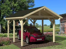 Wooden Carport Robert 3.15m x 5.1m 3m x 6m Carports